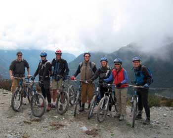Biking trips con camping