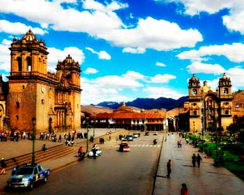 Cusco city by local people